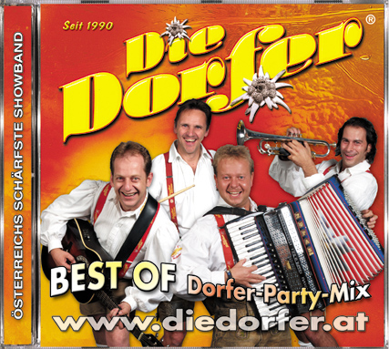 CD Best of Dorfer-Party-Mix